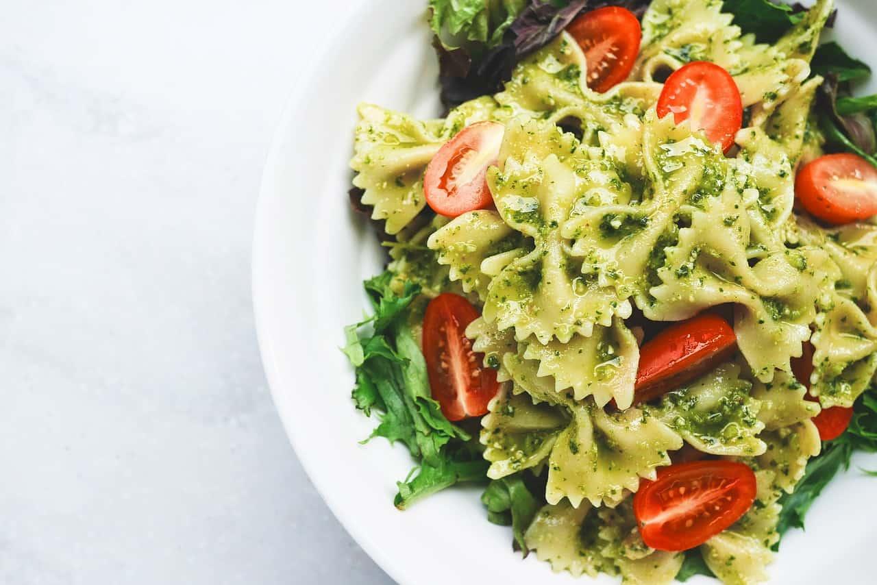 פסטה עם ירקות