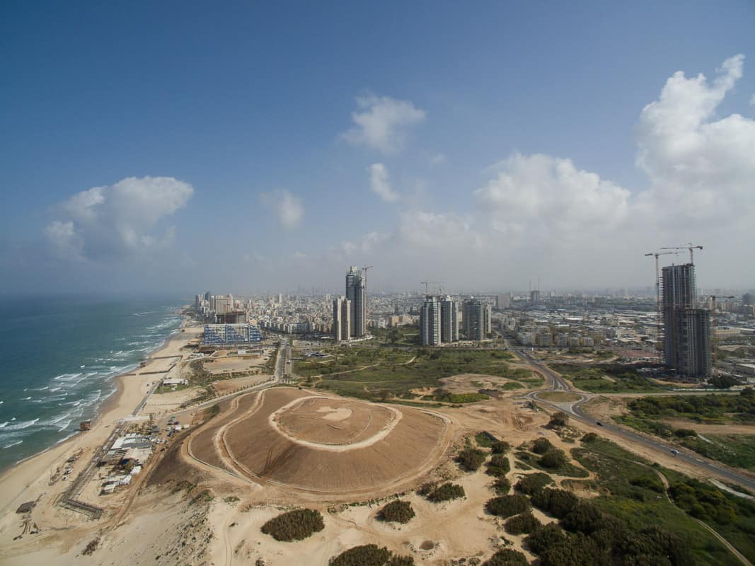 """התחדשות עירונית בבת ים, צילום: יח""""צ"""