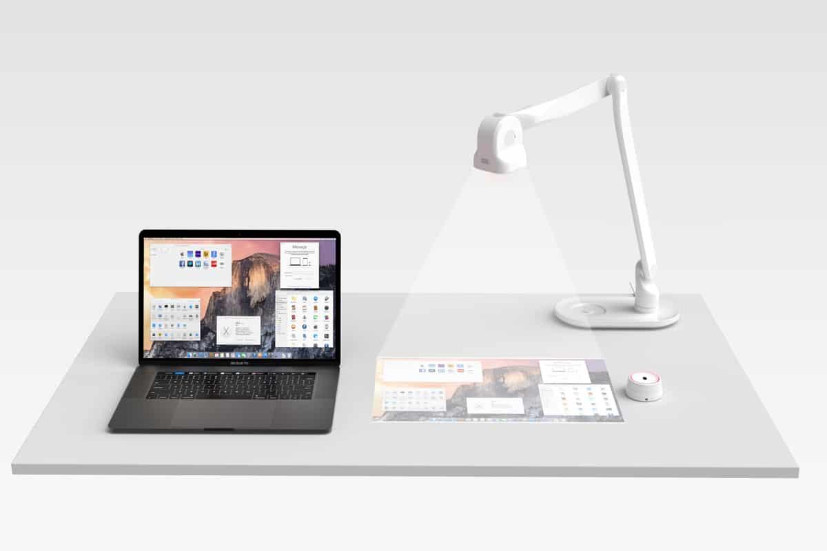 מאיר נדב - מנורת שולחן רובוטית