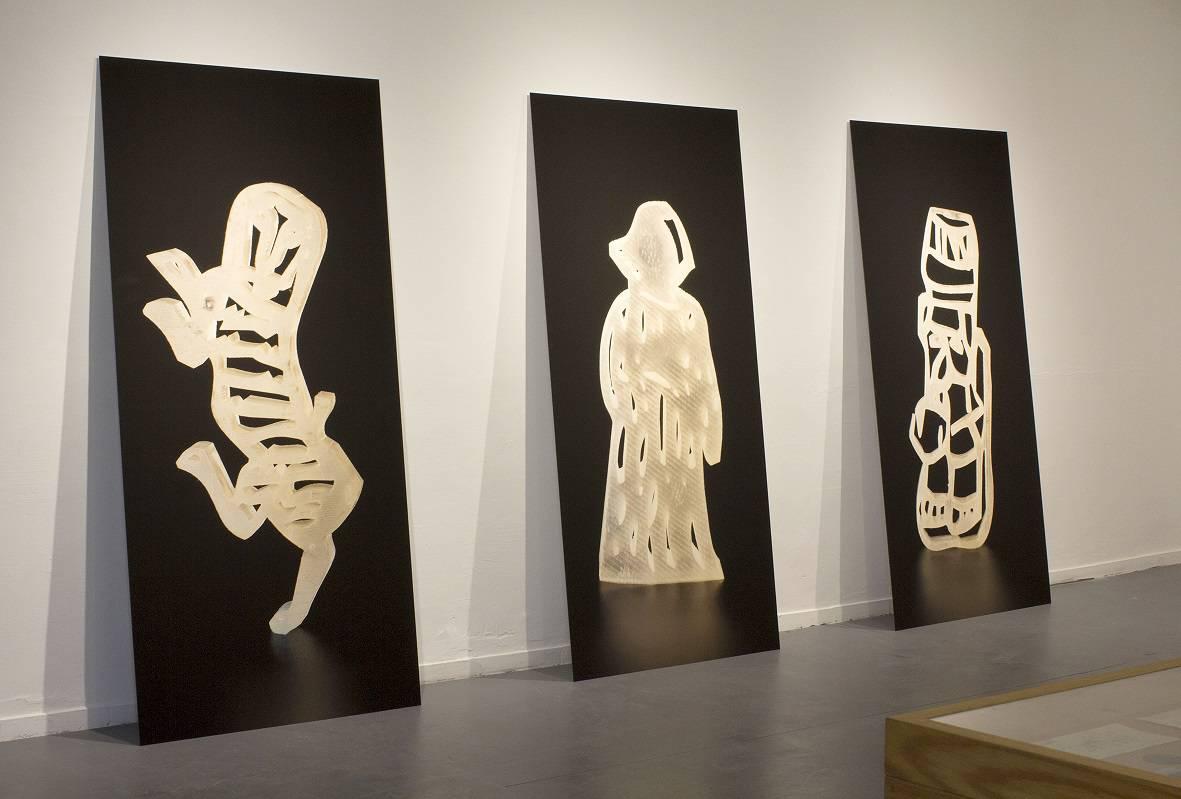 לצמן ממשיכה בחיפוש האמנותי אחר מקומו של היהודי, צילום תמר לצמן