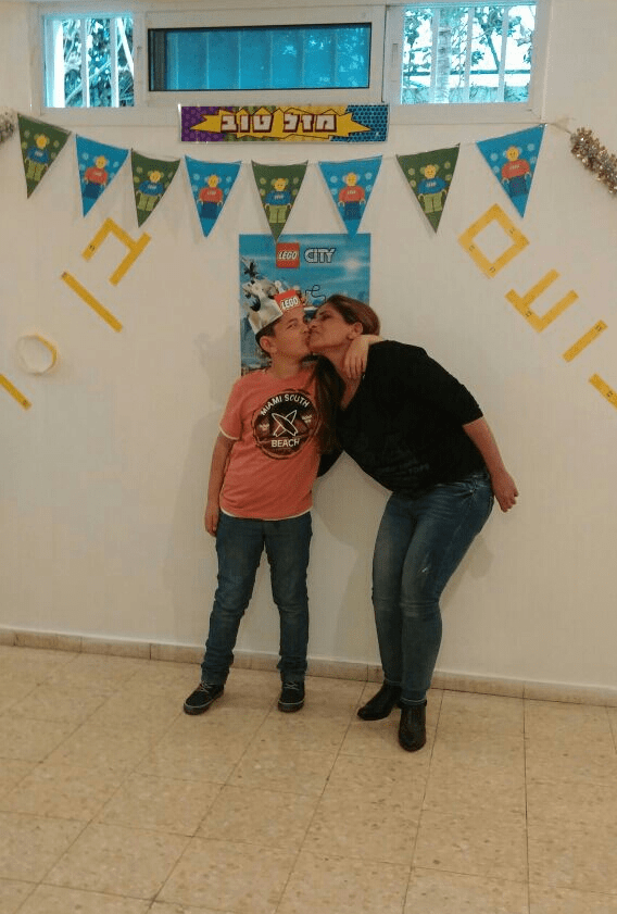 מסיבת יום ההולדת של נעם סבן, צילום: פרטי