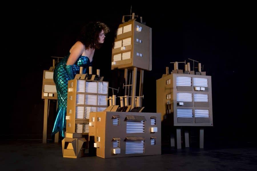 פסטיבל בת-ים הבינלאומי לתאטרון ואמנות רחוב 2018. אימאג' 2 סיוון מויאל ואוהד חדד צילום: סיוון מויאל